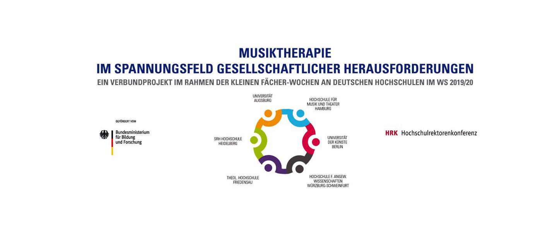 Musiktherapie erstmals gefördert im Rahmen der 'Kleine Fächer-Wochen' 2019