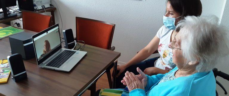 Musiktherapie als musikalisches Videoangebot von Sandra Schneider-Homberger