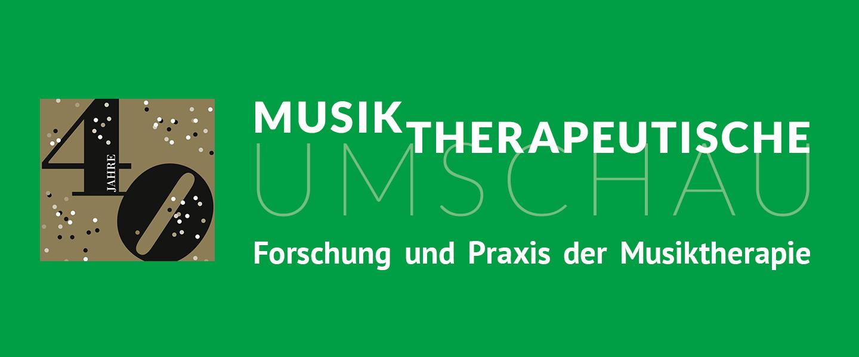 40 Jahre Musiktherapeutische Umschau Wortwolken