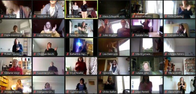 Musiktherapie-Studierendentreffen 2021Body Percussion