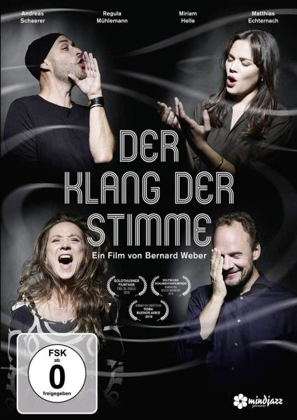 Der Klang der Stimme Dokumentarfilm von Bernard Weber Filmplakat