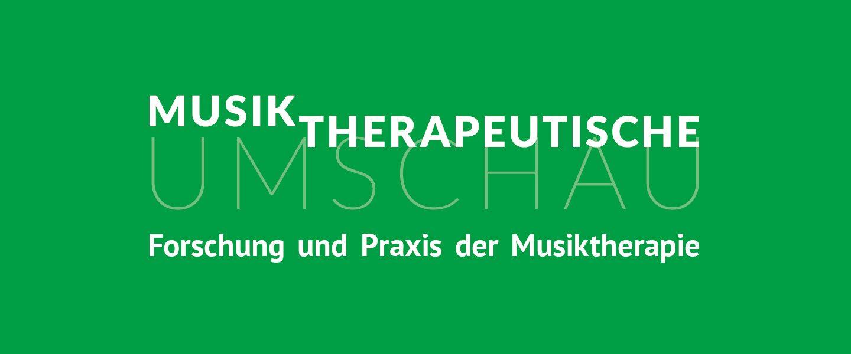Musiktherapeutische Umschau Header